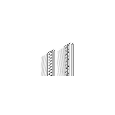 Aloituslista verkolla PVC   15mm  2m
