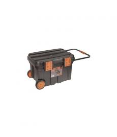 BACHO Työkalupakki pyörien kanssa PTBW67  675x472x416mm 78L, muovi lukko