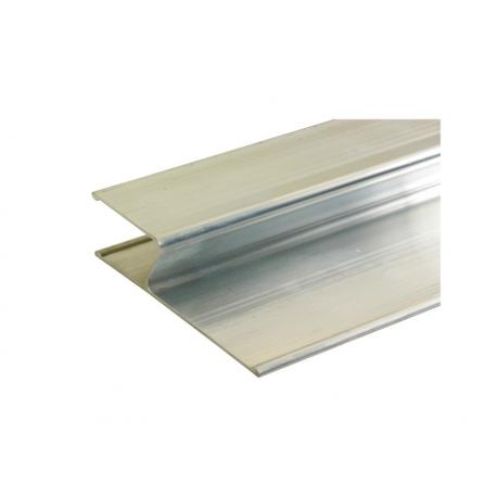 Alumiinilinjari H-profiili  115x28x2000mm