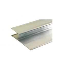 Alumiinilinjari H-profiili  115x28x2500mm