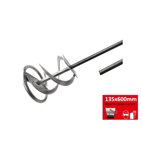 Laastivispilä, kierre Prof  135x600mm  (20-40kg)