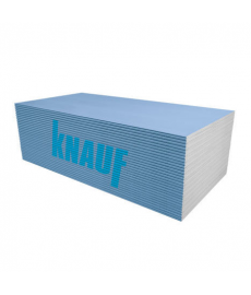 Knauf märkätilakipsilevy BLUE 1,2x3,0x12,5mm  3,60m2  (2,70€/m2)