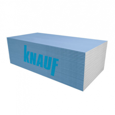 Knauf märkätilakipsilevy BLUE 1,2x2,6x12,5mm  3,12m2  (2,70€/m2)