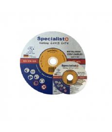 Metallilaikka katkaisun Specialist Long Life 125x0,8x22