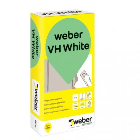WEBER VH (Vetonit VH) valkoinen 20 kg