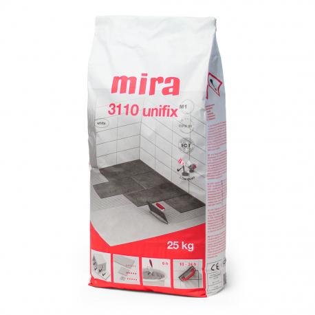 MIRA 3110 Unifix valkoinen C2TE S1 25 kg