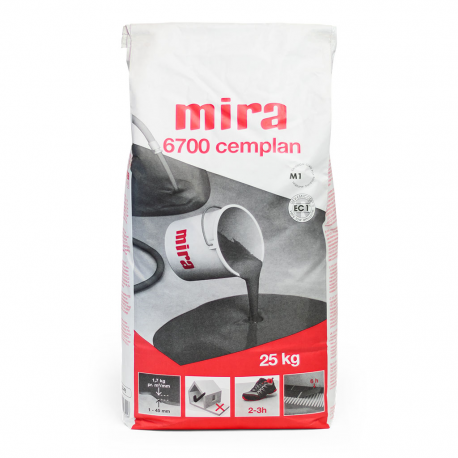 MIRA 6700 Cemplan 25 kg