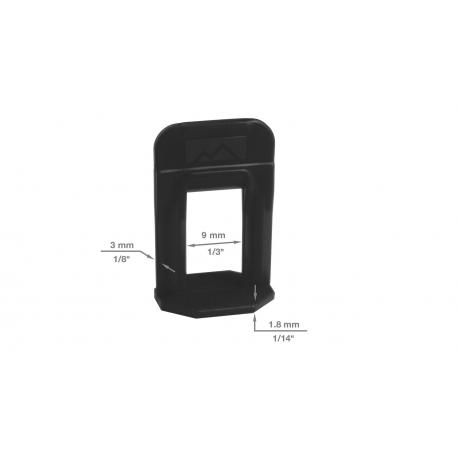 Levelize laatta-ankkuri 3 mm  ( 100 kpl )