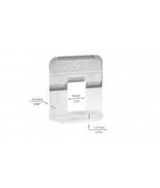 Levelize laatta-ankkuri 0.5 mm  (100 kpl)