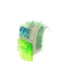 Kulmaprofiili kaarelle, PVC 2,5m
