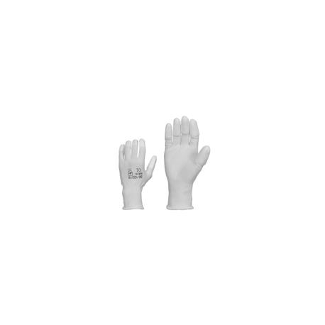 Nylonsormikas PUpinnoit.sormen.valkoin. / 12pari