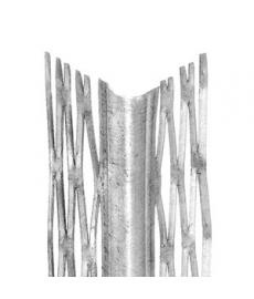 Rappauskulma Zn.teräsverk.34x34 2,5m.